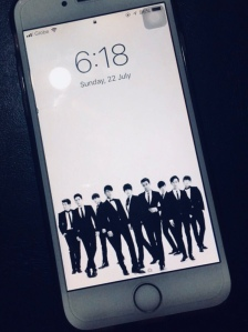 For the Love of VIXX: I got myself an iPhone 6 because N of VIXX was using an iPhone 6!