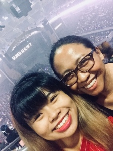 Partners in Crime: my Tita Edel and I at the Super Show 7.