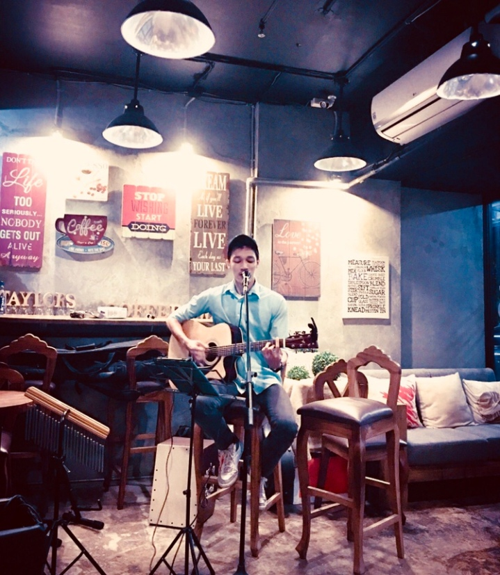 Taylor's Coffee with a Heart open mic